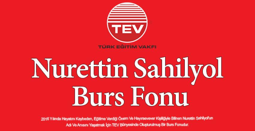 Türk Eğitim Vakfı Nurettin Sahilyol Burs Fonu